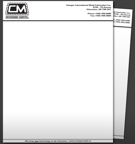 New letterhead format for ca for letterhead ca format logo logo company charger created the clients metal initial on based spiritdancerdesigns